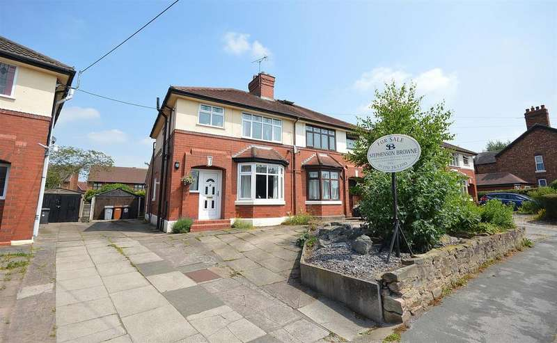 3 Bedrooms Semi Detached House for sale in Bradeley Road, Haslington