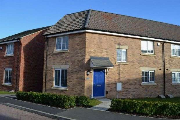 3 Bedrooms Semi Detached House for sale in Mayfly Road, Dragonfly Meadows, Northampton NN4 9EQ