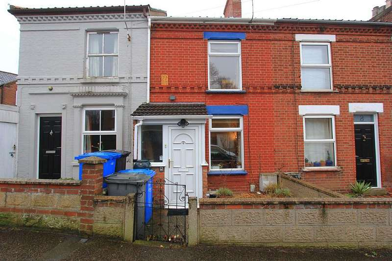 2 Bedrooms Terraced House for sale in 6, Vicarage Road, Norwich, Norfolk, NR3 2HB