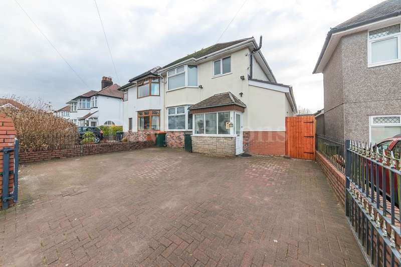 3 Bedrooms Semi Detached House for sale in Burnfort Road, Off Bassaleg Road, Newport. NP20 3GU
