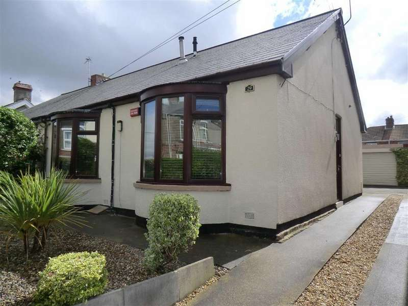 2 Bedrooms Semi Detached Bungalow for sale in 29, Broom Road, Ferryhill