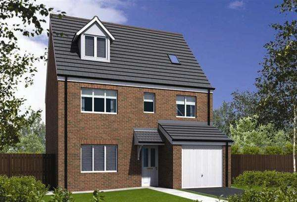 5 Bedrooms Town House for sale in Chancery Fields, Chorley