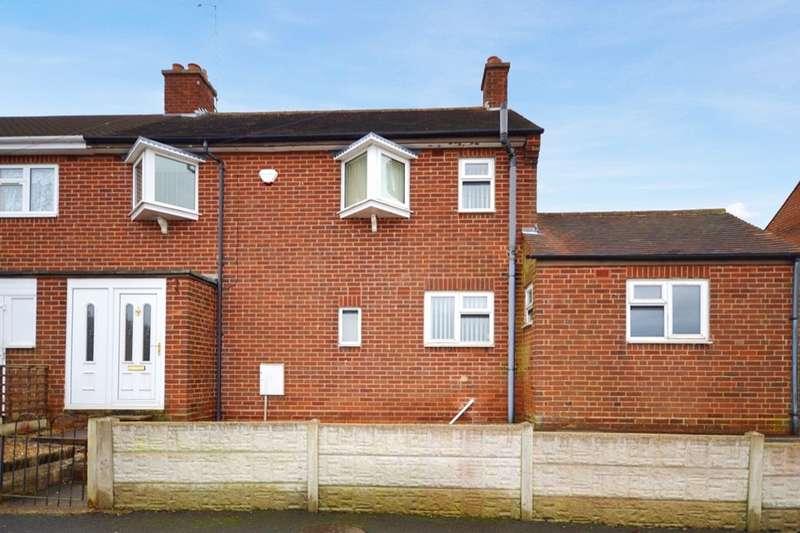 3 Bedrooms Semi Detached House for sale in Woodville Road, Hartshorne, Swadlincote, DE11
