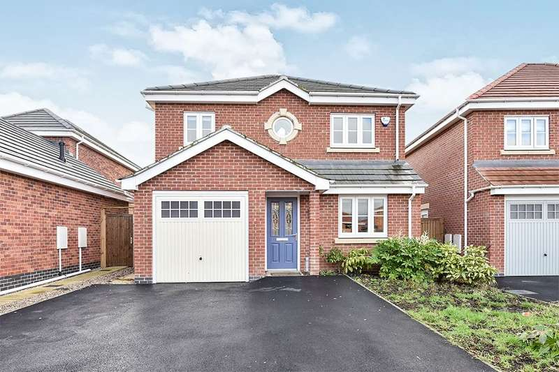 4 Bedrooms Detached House for sale in Windmill Close, Waingroves, Ripley, DE5