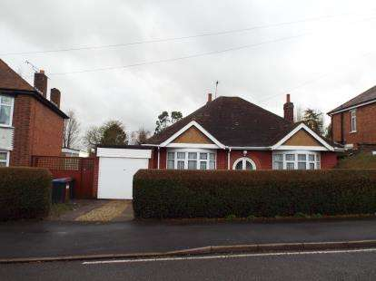 Bungalow for sale in Woodland Road, Hinckley, Leicestershire