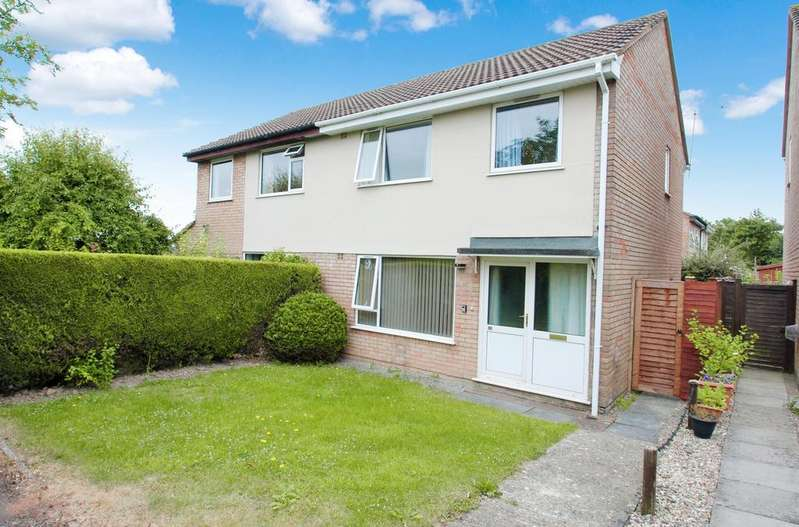 3 Bedrooms Semi Detached House for sale in Castlemans Road, Taunton