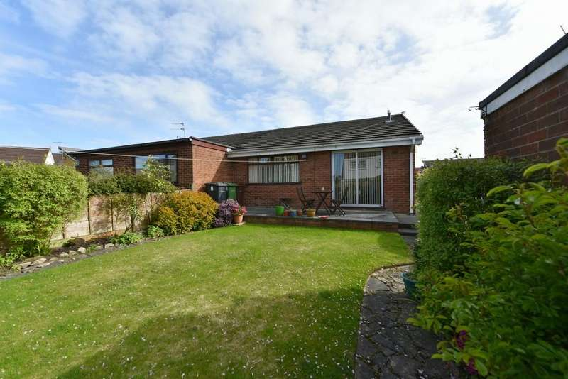 2 Bedrooms Semi Detached Bungalow for sale in Meadow Bank, Maghull