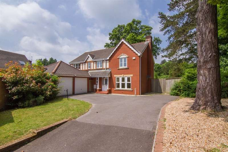 5 Bedrooms Detached House for sale in Bassetts Field, Thornhill, Cardiff