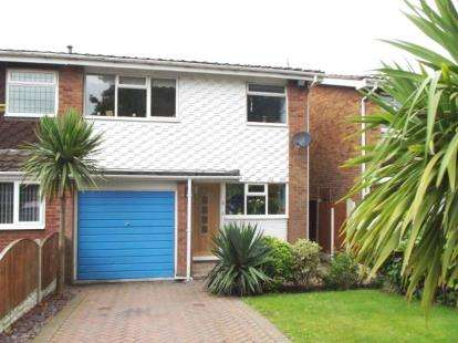 3 Bedrooms Semi Detached House for sale in Hillcrest Close, The Leys, Tamworth, Staffordshire