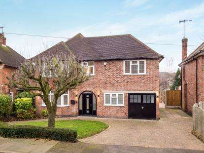5 Bedrooms Detached House for sale in Parkside Gardens, Wollaton, Nottingham, Nottinghamshire