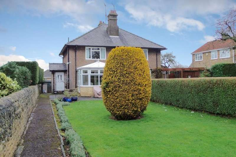 2 Bedrooms Semi Detached House for sale in 2 The Crag, Bramham, LS23 6QB