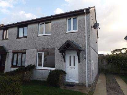 3 Bedrooms Semi Detached House for sale in Mount Hawke, Truro, Cornwall