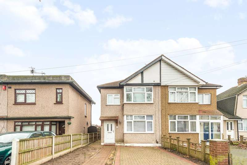 3 Bedrooms Semi Detached House for sale in The Drive, Feltham, TW14