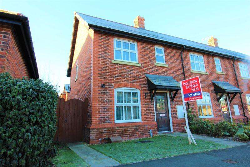 3 Bedrooms End Of Terrace House for sale in Cheshires Way, Saighton, Chester