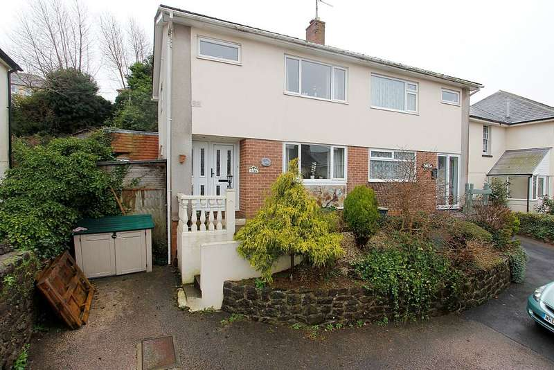 3 Bedrooms Semi Detached House for sale in Teignmouth Road, St Marychurch, Torquay, Devon, TQ1 4RR