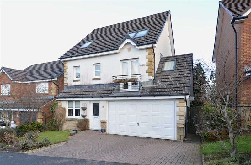 5 Bedrooms Detached House for sale in Skylands Rise, Torhead Farm, Hamilton- rarely available house type, formed over 3 levels