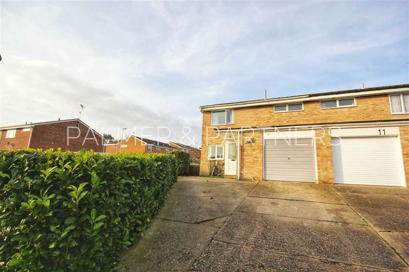 3 Bedrooms Semi Detached House for sale in Coggeshall Way, Halstead