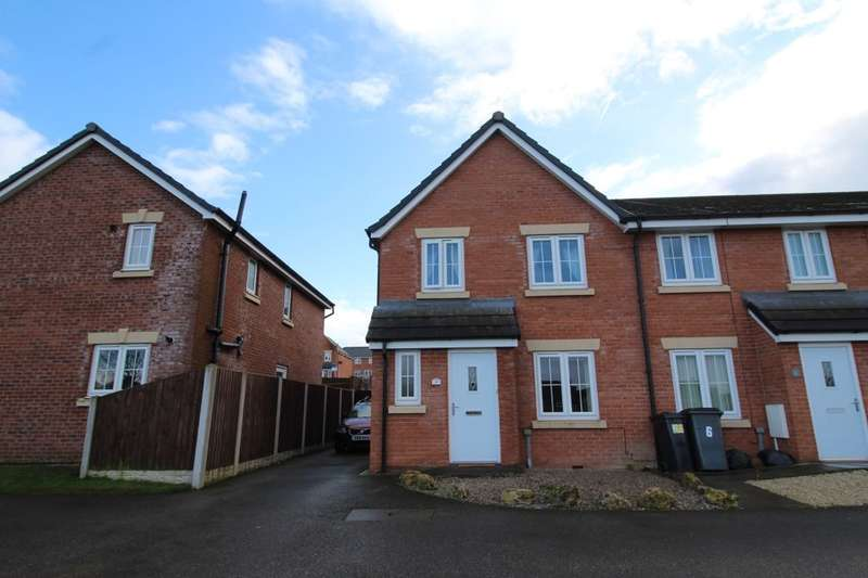 4 Bedrooms Semi Detached House for sale in Cavaghan Gardens, Carlisle, CA1
