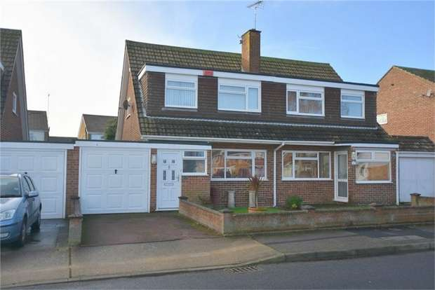 3 Bedrooms Semi Detached House for sale in Cherry Gardens, Broadstairs, Kent