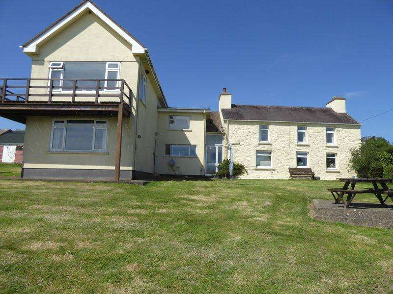 4 Bedrooms Detached House for sale in Ballakillowey Farmhouse, Sloc Road, Colby