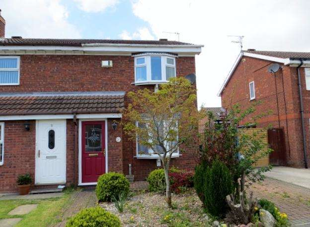 3 Bedrooms Semi Detached House for sale in Coronet Close, Hall Road, Hull, HU6 9UD