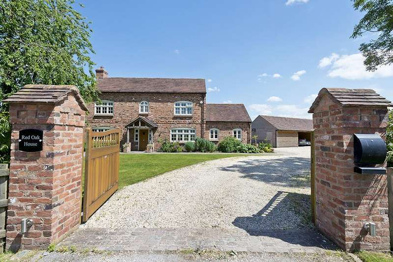 5 Bedrooms Detached House for sale in Elvers Green Lane, Knowle