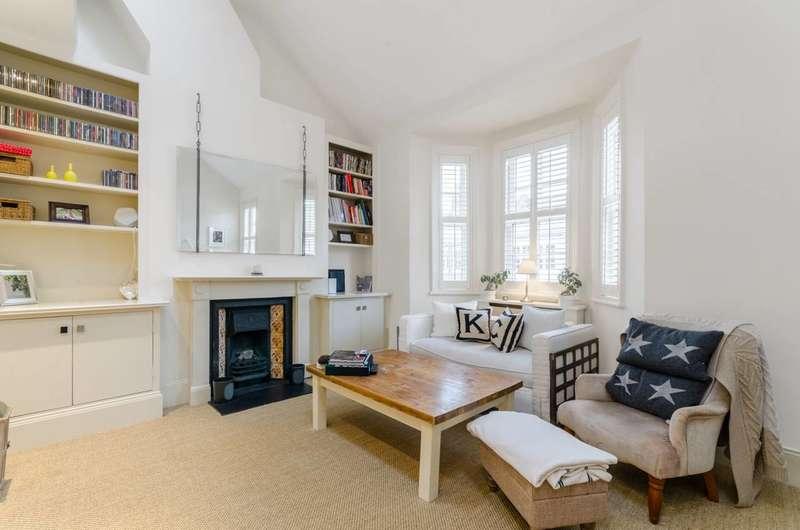 2 Bedrooms Maisonette Flat for sale in Racton Road, West Brompton, SW6