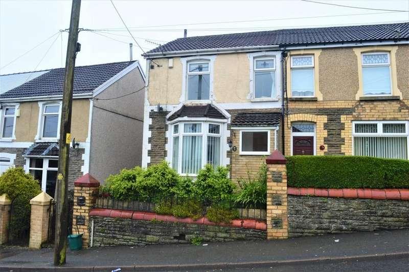3 Bedrooms Semi Detached House for sale in Hengoed Road, Hengoed