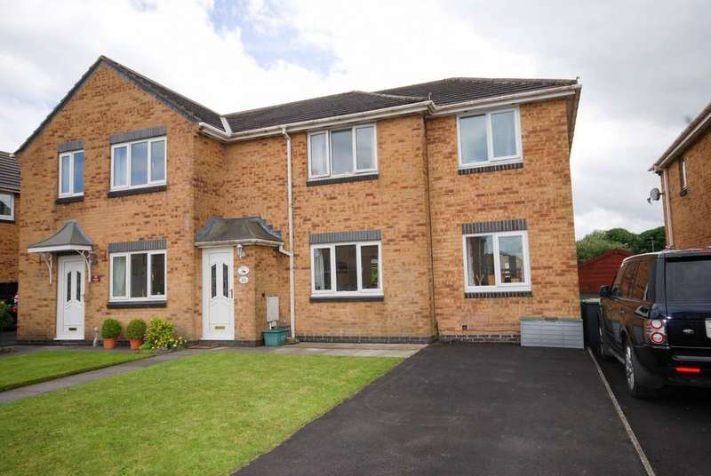3 Bedrooms Semi Detached House for sale in Beaumont Drive, Buxton