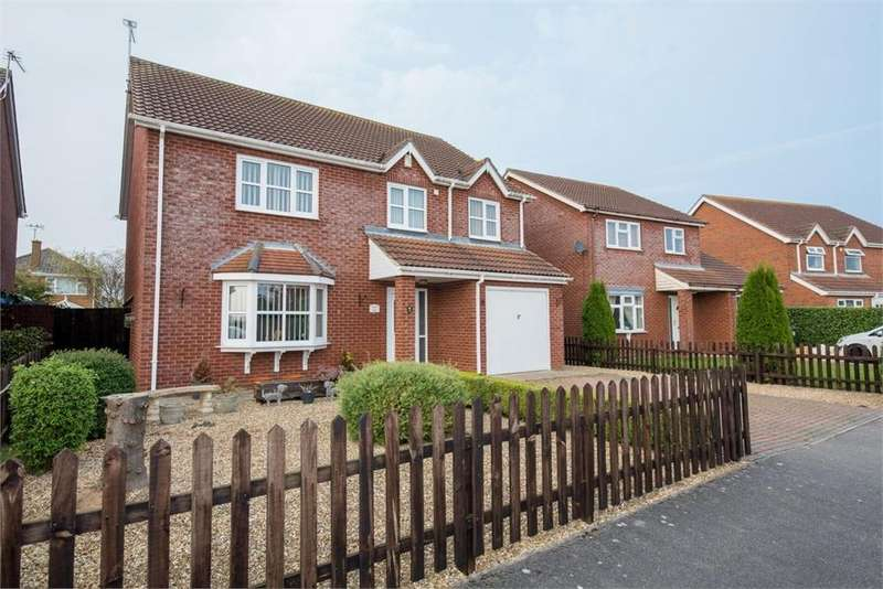 4 Bedrooms Detached House for sale in Tyler Crescent, Butterwick, Boston, Lincolnshire