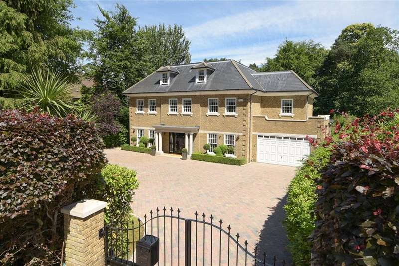 7 Bedrooms Detached House for sale in Godolphin Road, Weybridge, Surrey, KT13