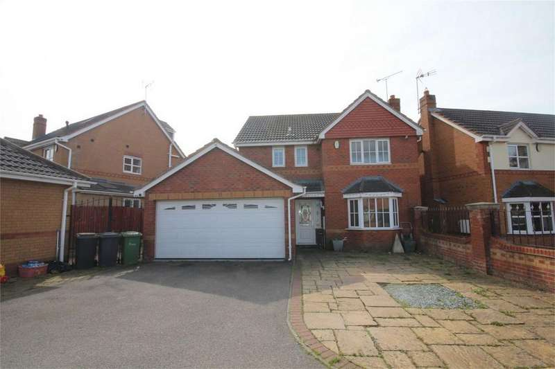 4 Bedrooms Detached House for sale in Northbourne Drive, Maple Park, Nuneaton, Warwickshire