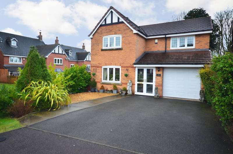 4 Bedrooms Detached House for sale in Hoffman Drive, Stallington, ST11 9TL