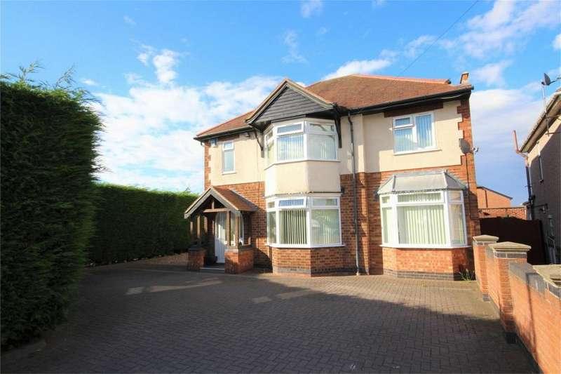 4 Bedrooms Detached House for sale in Lutterworth Road, Whitestone, Nuneaton, Warwickshire