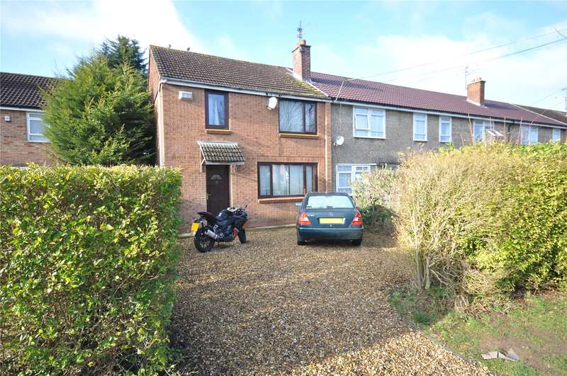 3 Bedrooms End Of Terrace House for sale in Cranmore Avenue, Park South, Swindon, Wiltshire, SN3