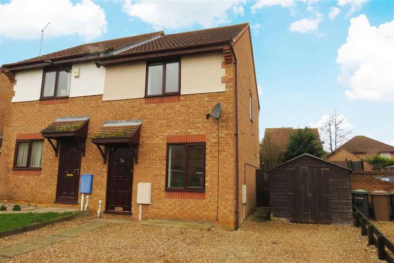 2 Bedrooms Semi Detached House for sale in Canterbury Drive, Sleaford