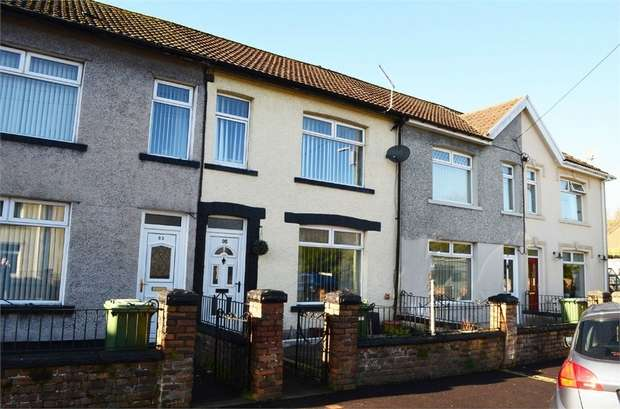 3 Bedrooms Terraced House for sale in Commercial Street, Beddau, Pontypridd, Mid Glamorgan