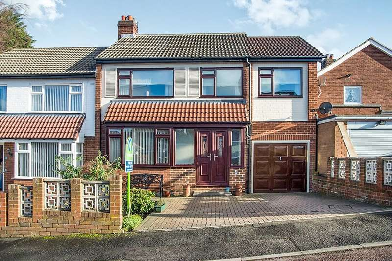 4 Bedrooms Semi Detached House for sale in Enfield Avenue, Swalwell, Newcastle Upon Tyne, NE16