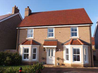 4 Bedrooms Detached House for sale in Tallis Lane, Biggleswade, Bedfordshire