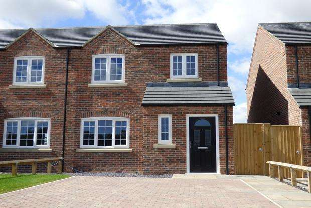 3 Bedrooms Semi Detached House for sale in Gibson Way, Grimoldby, Louth, LN11