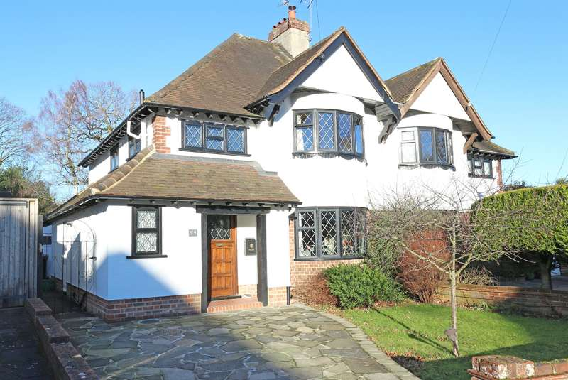 3 Bedrooms Semi Detached House for sale in Silverdale Road, Petts Wood, Orpington, BR5 1NH