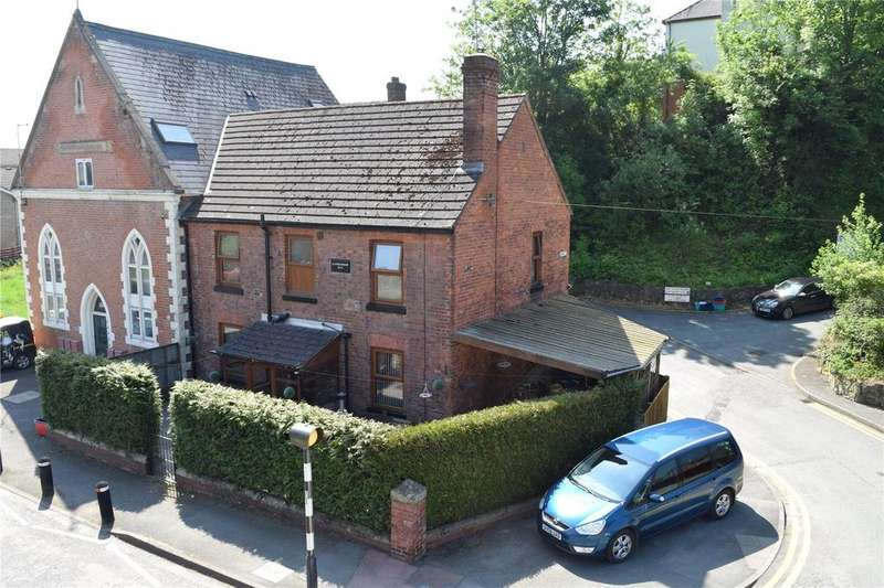 4 Bedrooms Semi Detached House for sale in Brook Street, Welshpool, Powys