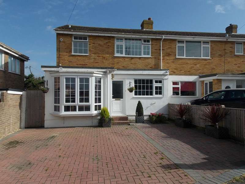 4 Bedrooms Semi Detached House for sale in Headland Close, Peacehaven, East Sussex