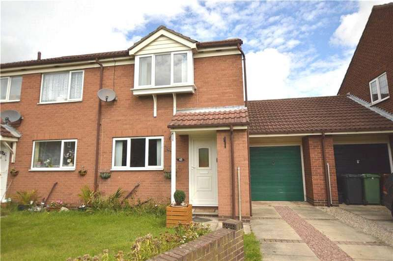 2 Bedrooms Semi Detached House for sale in Rosewood Court, Rothwell, Leeds, West Yorkshire