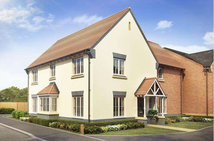 4 Bedrooms Detached House for sale in Plot 171, The Barley, Sutton Grange, Shrewsbury