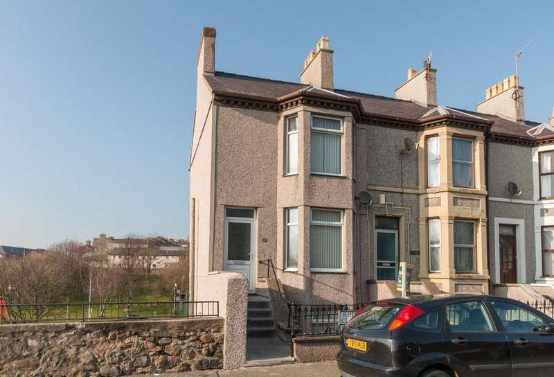 4 Bedrooms End Of Terrace House for sale in Clarke Terrace, Caernarfon, North Wales