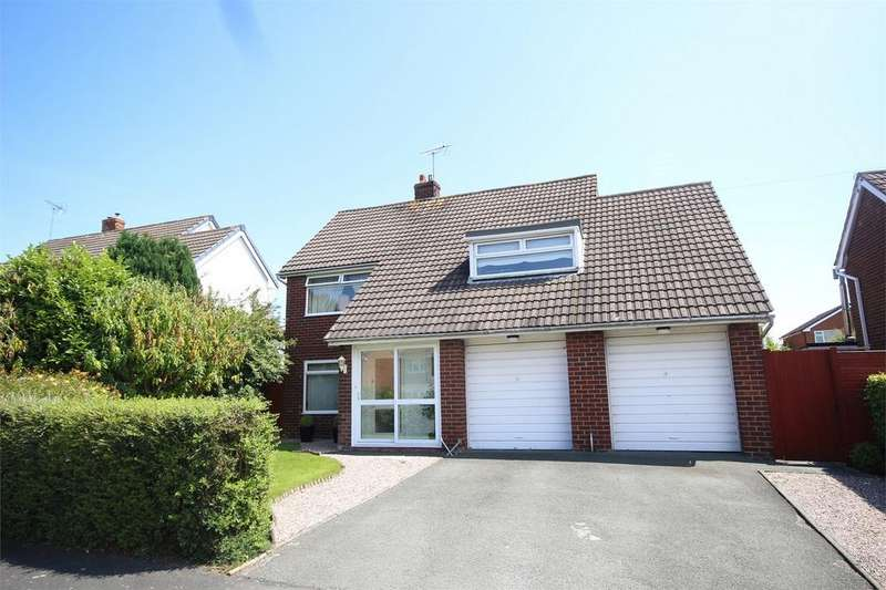 5 Bedrooms Detached House for sale in Bron Yr Eglwys, Mynydd Isa, Flintshire