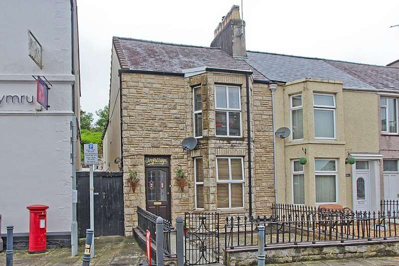 3 Bedrooms End Of Terrace House for sale in Glanhwfa Road, Llangefni, North Wales