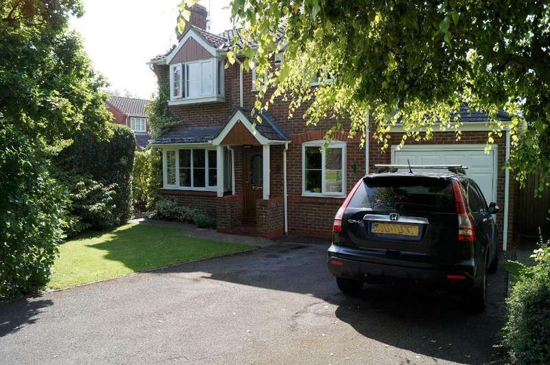 4 Bedrooms Detached House for sale in Canons Way, Steyning, West Sussex, BN44 3SS