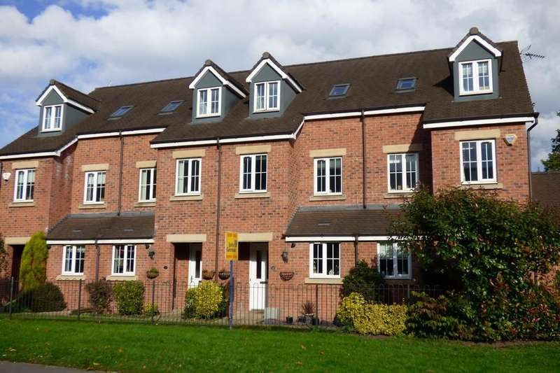 3 Bedrooms Town House for sale in Cheadle Road, Uttoxeter